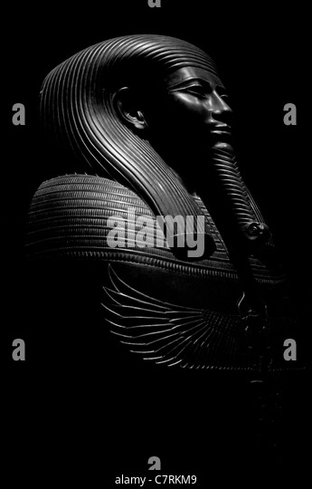 Egyptian Statue model - Stock Image