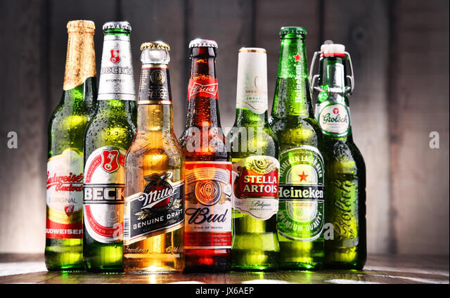 the global branding of interbrew and Give reasons both for and against developing a global brand  stella artois is  really important for the growth of interbrew but can sometimes be dangerous if  the.