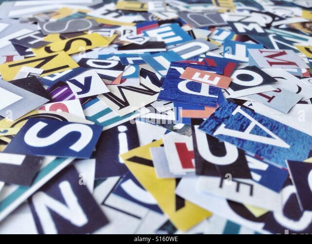 Letters - Stock-Bilder