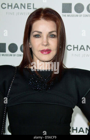 Actress Priscilla Presley attends the Museum of Contemporary Art's - MOCA's Annual Gala 'The Artist's - Stock Image