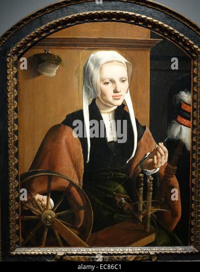 Portrait of Anna Codde - Stock Image