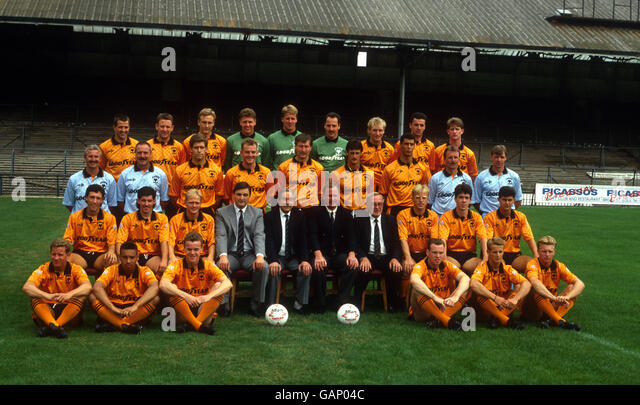 Soccer - Barclay's League Division One - Wolverhampton Wanderers Photocall - Stock Image