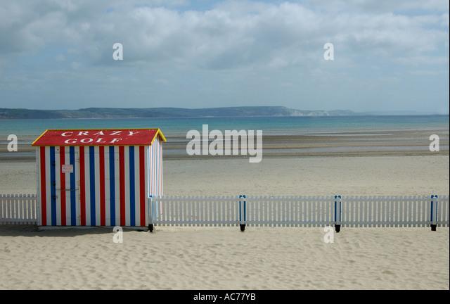 Weymouth Dorset Seafront - Stock Image