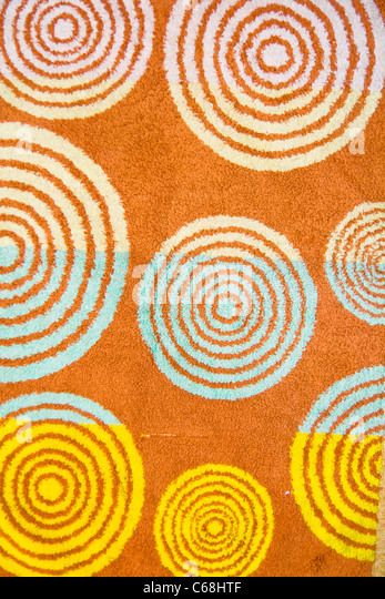 towel texture - Stock Image