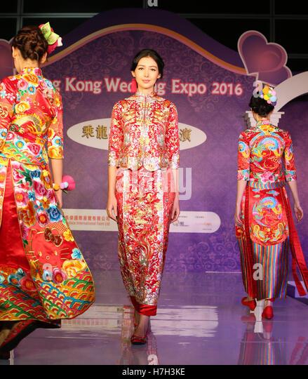 2016 in hong kong stock photos 2016 in hong kong stock for Traditional chinese wedding dress hong kong