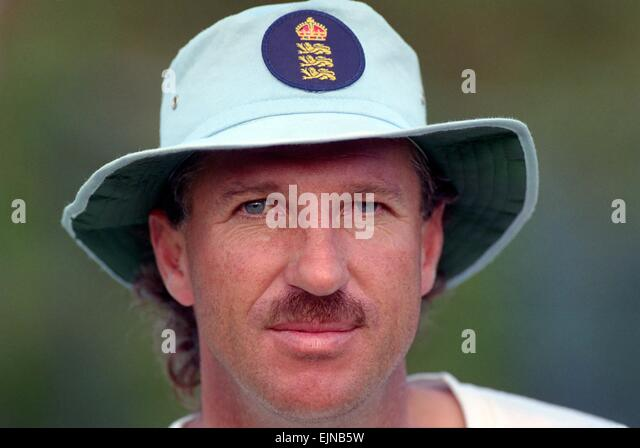 Cricket World Cup 1992 - Australia: Ian Botham. March 1992 DM-1894-397 - Stock Image