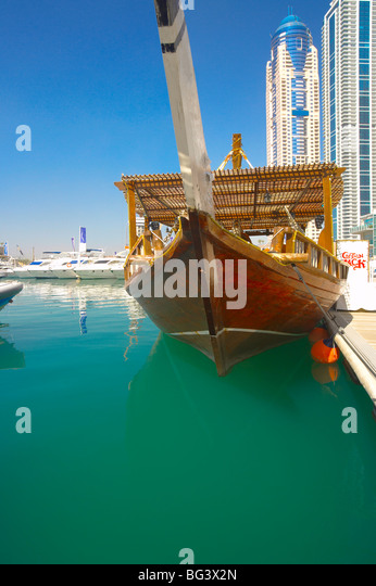 Marina, Dubai, United Arab Emirates, Middle East - Stock Image