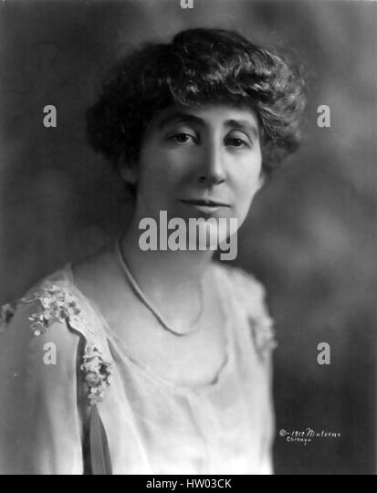 JEANETTE RANKIN (1880-1973) American politician, pacifist and campaigner for womens' rights - Stock-Bilder
