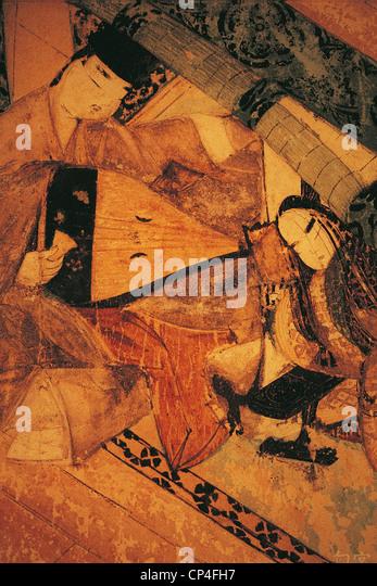 NAGOYA JAPAN ART MUSEUM Tokugawa - Stock Image