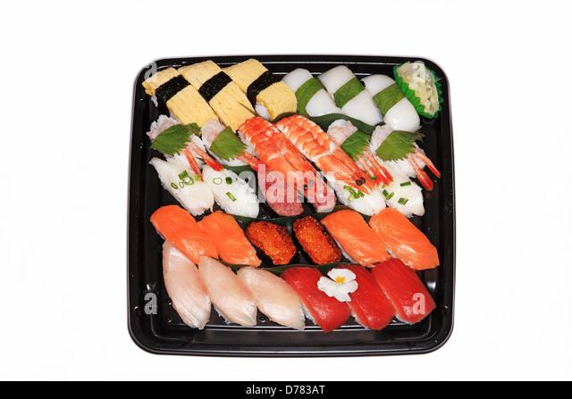sushi bento box stock photos sushi bento box stock images alamy. Black Bedroom Furniture Sets. Home Design Ideas