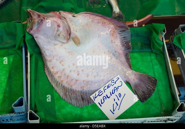 Seafood Market - Stock Image
