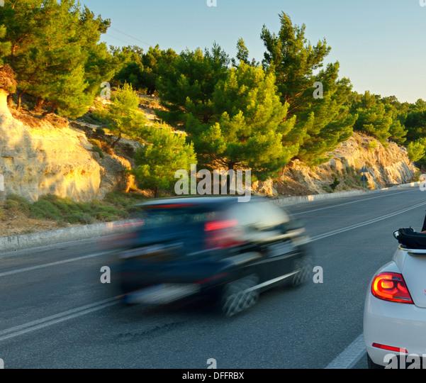 Mountains car travel. - Stock-Bilder