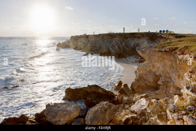 The Sculpture Park, Punta Sur, Isla Mujeres, Quintana Roo, Mexico. - Stock Image