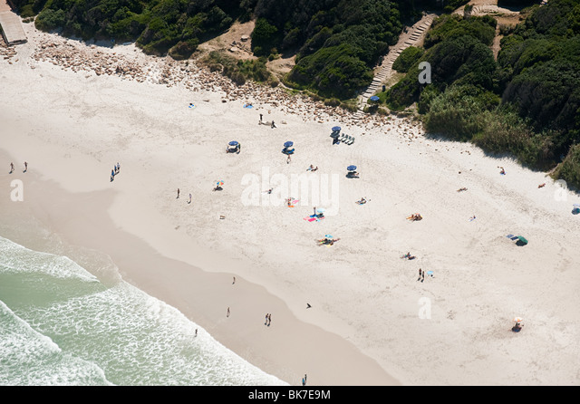 Cape town beach - Stock Image