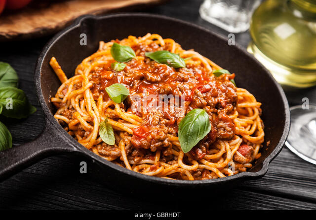 spaghetti bolognese italian food stock photos spaghetti bolognese italian food stock images. Black Bedroom Furniture Sets. Home Design Ideas