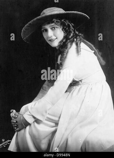 Mary Pickford, American Silent Movie actress, Mary Pickford - Stock-Bilder