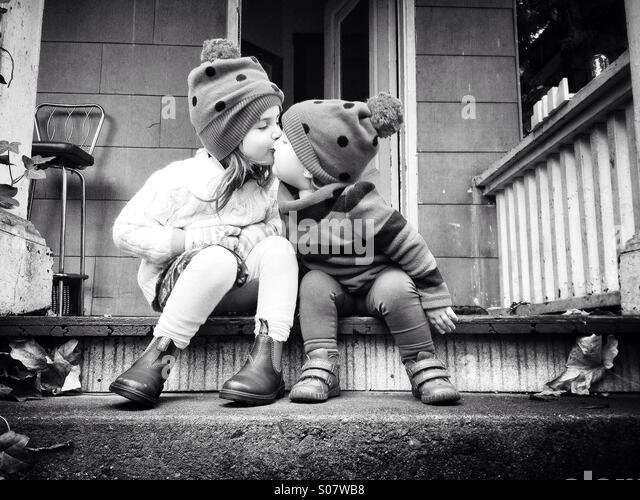 Sisterly Love - Stock-Bilder