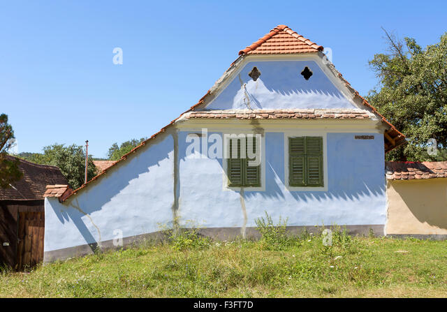 Erdely stock photos erdely stock images alamy - Saxon style houses in transylvania ...
