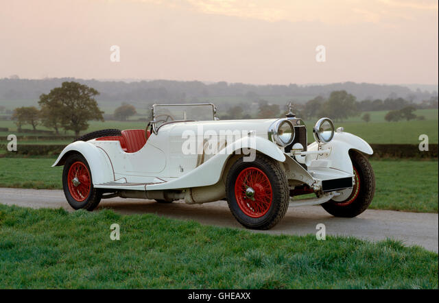 1930 Mercedes Benz 38 250SS - Stock Image