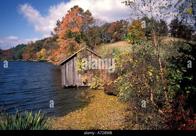 Fall Colors autumn North Carolina - Stock Image