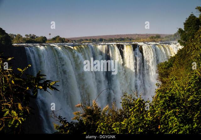 Victoria Falls, Zimbabwe, Africa - Stock Image