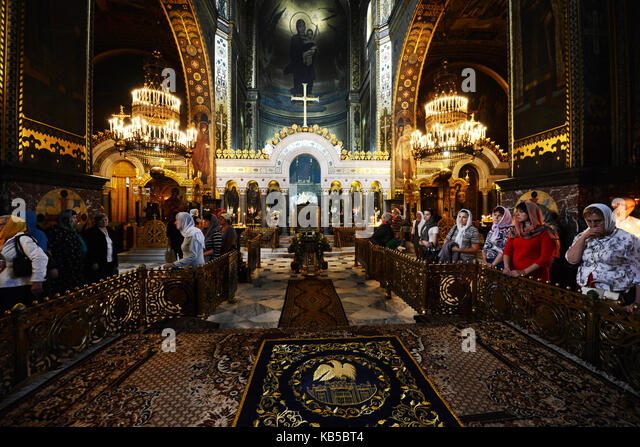 St. Volodymyrs Cathedral in Kyiv, Ukraine. - Stock Image