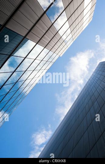 Cumulus Clouds Tall Building London