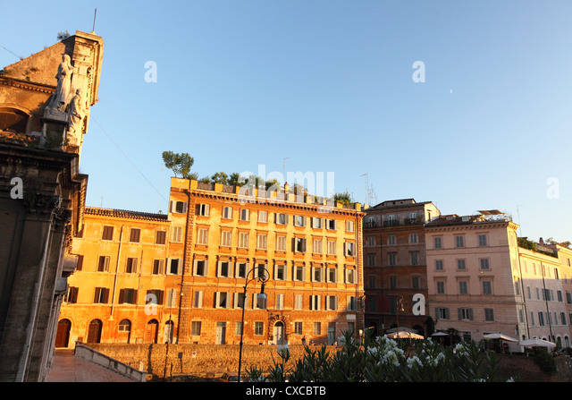 Italy, Rome, Rom, Roma, houses, housing, appartments, apartments, house, flat, condo - Stock Image