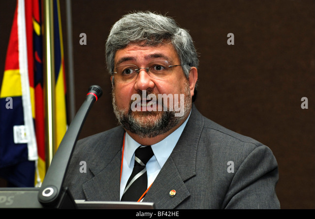 Hector Lacognata, Minister of Foreign Affairs, Paraguay - Stock Image