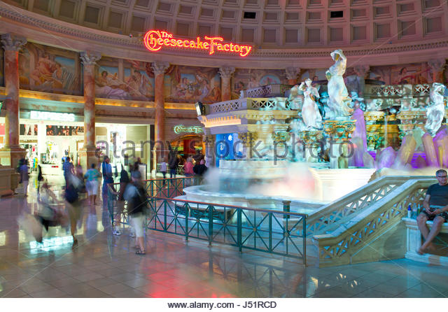 Forum Shops at Caesars Palace, Las Vegas, Clark County, Nevada, USA - Stock Image