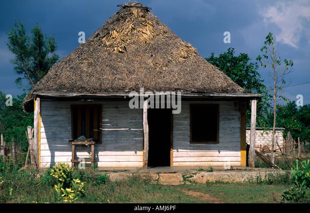 Kuba, Villa Clara, Dorfhaus - Stock Image