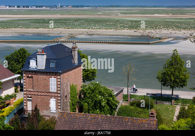 La baie stock photos la baie stock images alamy for Camping jardin de mon pere