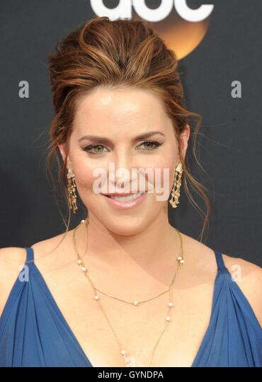 Los Angeles, CA, USA. 18th Sep, 2016. Sara Chase at arrivals for The 68th Annual Primetime Emmy Awards 2016 - Arrivals - Stock-Bilder