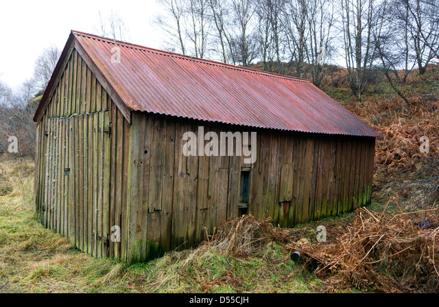 Red Roof Shed Corrugated Stock Photos Amp Red Roof Shed