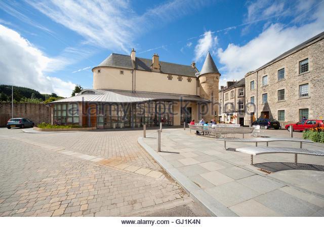 The Heritage Hub, The Scottish Borders Archive and Local History Centre, Hawick, Scottish Borders, Scotland. - Stock-Bilder