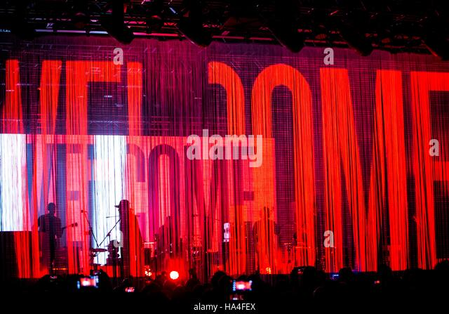 Milan, Italy. 26th November, 2016. Archive perform live at Fabrique Credit:  Roberto Finizio/ Alamy Live News - Stock-Bilder