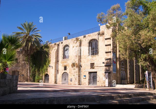 Theatre,Jaffa streets,Tel Aviv,Israel - Stock Image