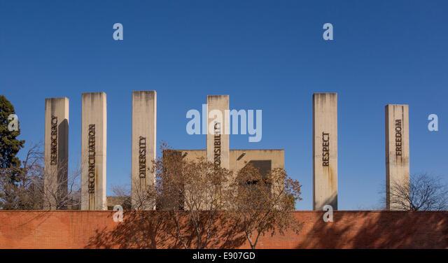 JOHANNESBURG, SOUTH AFRICA - Apartheid Museum. - Stock Image