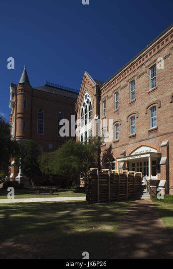 USA, Alabama, Tuscaloosa, University of Alabama, Garland Hall - Stock Image