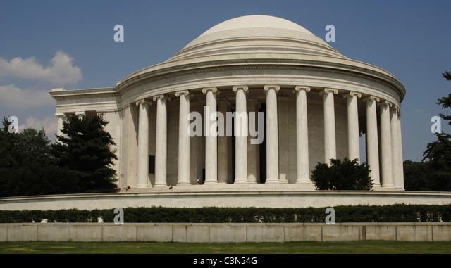 United States. Washington D.C. Thomas Jefferson Memorial. - Stock Image