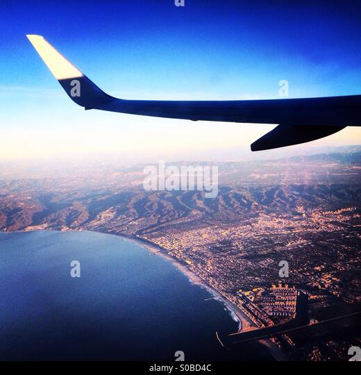 Travel coast of California - Stock Image
