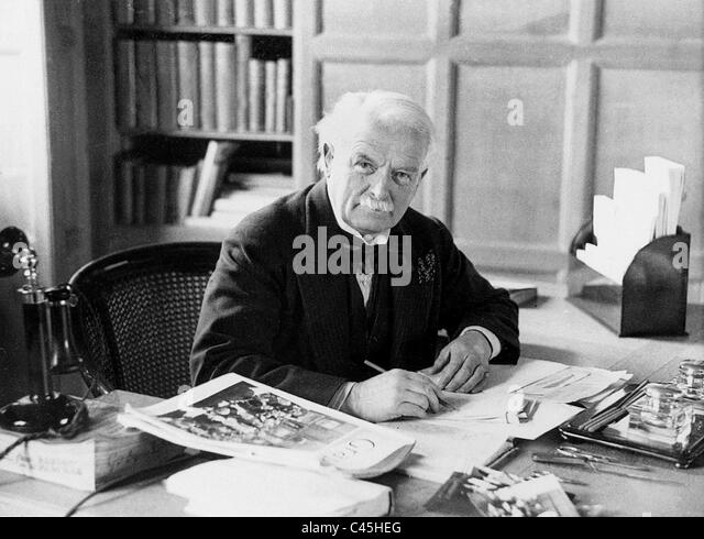 David Lloyd George, 1929 - Stock Image