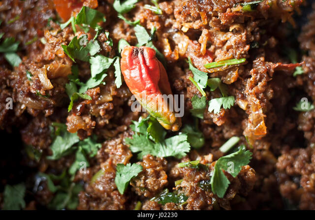 Delicious Mutton Kheema. - Stock Image