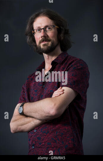 English writer and thinker Paul Kingsnorth. - Stock Image