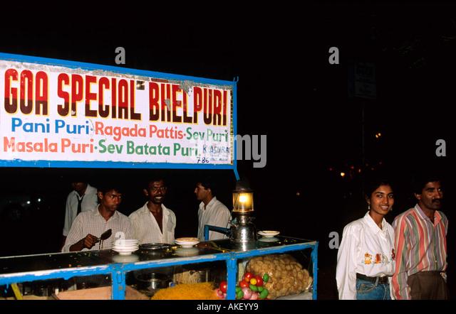 Indien, Goa, Panjim, Garküchen - Stock-Bilder