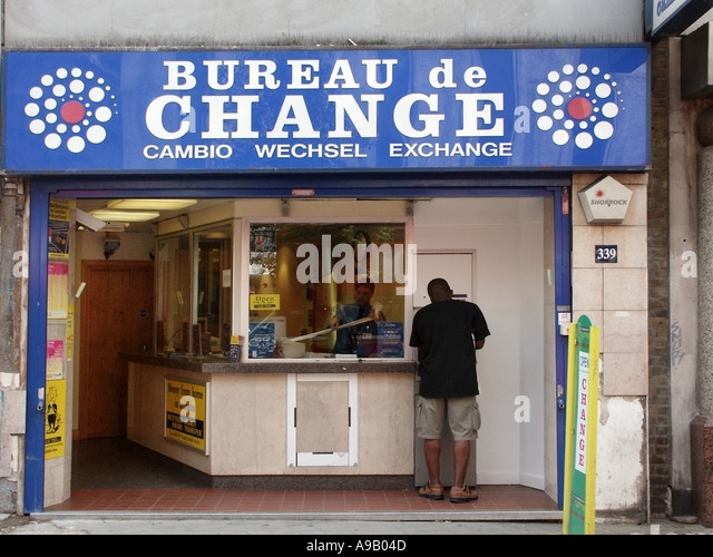 Money exchange change money shop signs stock photos money exchange change money shop signs - Gatwick airport bureau de change ...