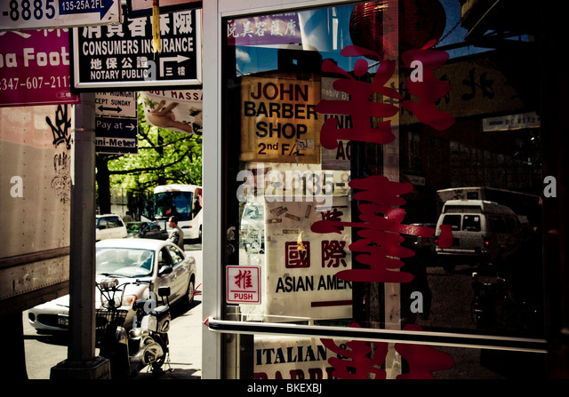 Barber Shop On Street Stock Photos & Barber Shop On Street Stock ...