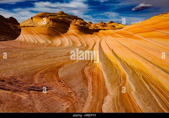 The Second Wave, Paria/Vermillion Cliffs Wilderness, Arizona  Vermillion Cliffs National Monument - Stock-Bilder