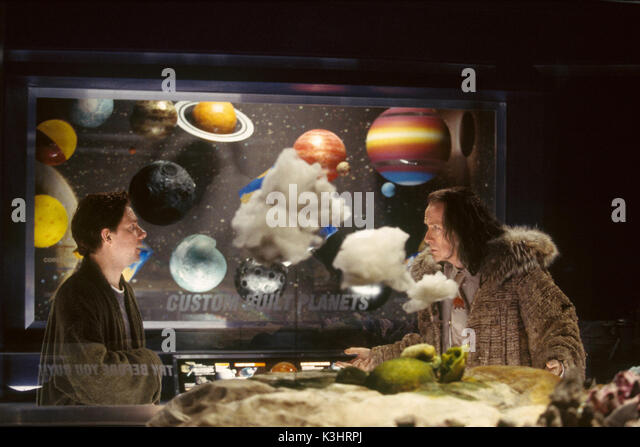 THE HITCHHIKER'S GUIDE TO THE GALAXY [US / BR 2005]  MARTIN FREEMAN, BILL NIGHY     Date: 2005 - Stock Image