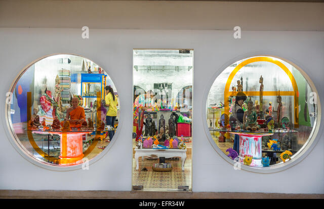 Wa Gallery Concept Store, Siem Reap, Cambodia. - Stock Image
